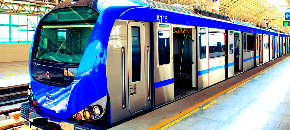 Chennai Metro Coaches to Be Built In India