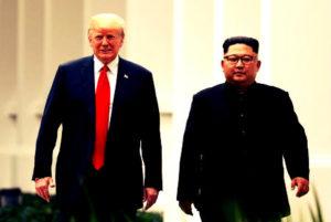Kim - trump