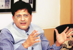 Piyush Goyal Named Interim Finance & Corporate Affairs Minister mid