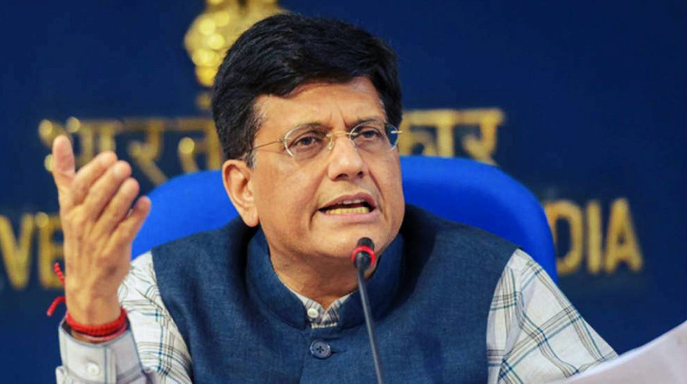 Piyush Goyal Named Interim Finance & Corporate Affairs Minister
