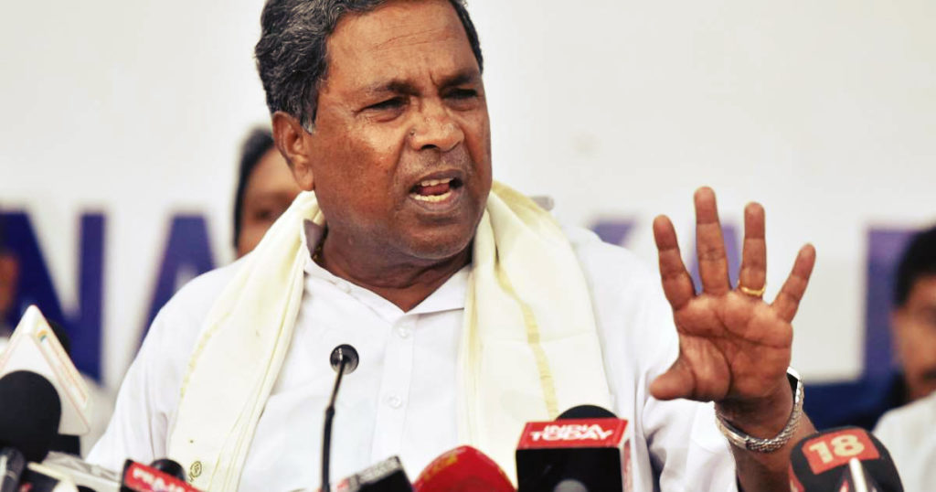 Siddaramaiah Loses it! Manhandles Woman for Questioning his Performance