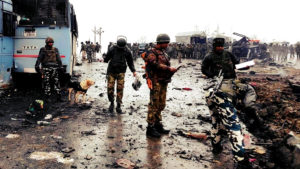 Kashmir Rocked By Terrorist Attack On The Armed Forces, 42 Dead mid