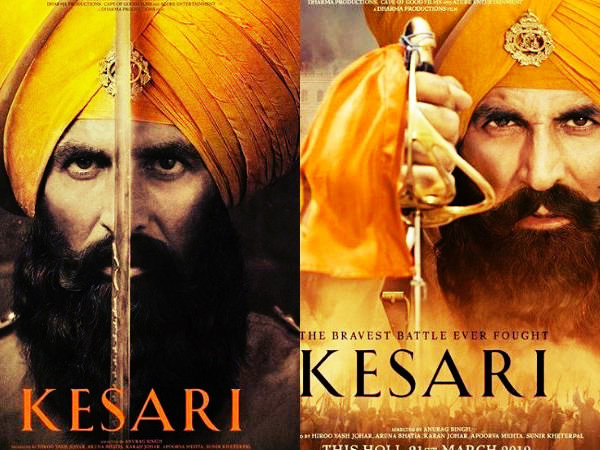 Kesari Trailers - The Color of Valor of a Small Troop, Headed by Akshay Kumar