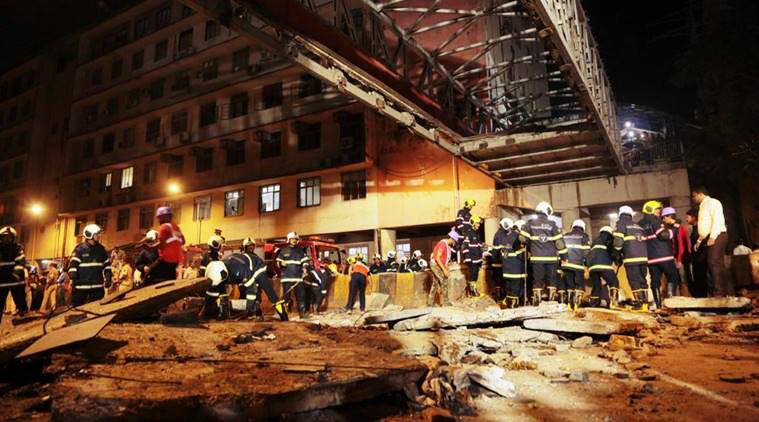 All about Mumbai Foot Overbridge Collapse mid