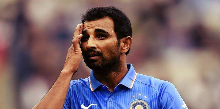 Chargesheet Against Indian pacer Mohammed Shami