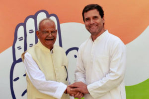 Former Telecom Minister Re-Joins Congress with His Grandson mid