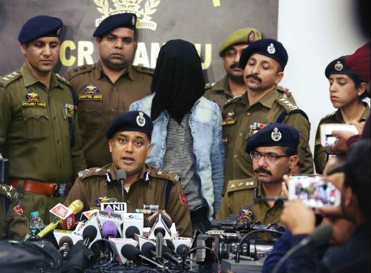 Jammu Grenade Blast mid
