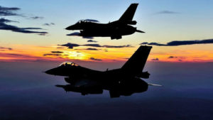 Pakistani air force aircraft violated the Indian air space in Jammu and Kashmir state and attempted air strikes