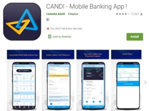 Canara Bank app