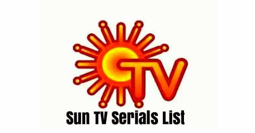Sun Tv Schedule 2020