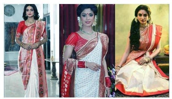 bengali saree style