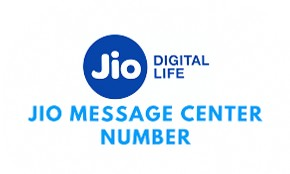Jio Message Centre Number